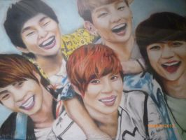 shinee by kpopfanalice