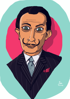 Salvador Dali by SamThielemans