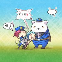 LOL Captain Volibear by stchi