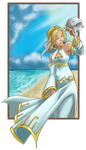 Request: Fina from Skies of Arcadia by HitokiriChibi