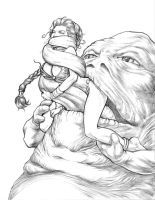 Jabba Tongue by steveoreno