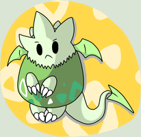 PKMNation: Dixie the Dragon Togepi by Kamajii-the-mog