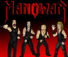 Manowar in color this time by Fatcatfat