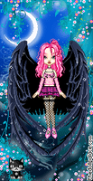 pink goth by lolohe