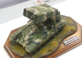 Russian TOS-1A Buratino Model by rlkitterman