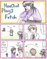 HeeChul Plays Fetch by Decora-Chan