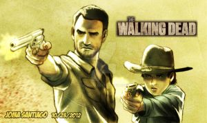 The Walking Dead by joma33