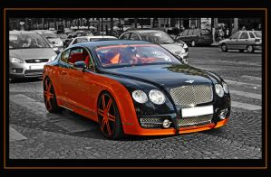 BENTLEY CONTINENTAL GT MANSORY by psycko91