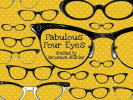 Fabulous Four Eyes Preview by UncommonARTicles