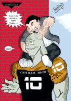 Gotham High: with desperate courage! by ShredSmiler