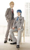 Cosplay : DMMd 2013 THE CHiRAL Night NOISE X AOBA by bittys