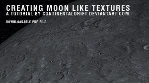 creating moonlike textures tut by continentaldrift