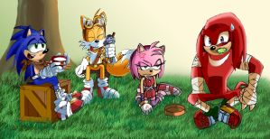 Sonic Boom: Food Fiasco by leonarstist06
