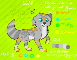 Ref sheet Yaki for compentition by MissLayira