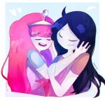 Touch your Face 1 ( Bubbline) by DarkCatz