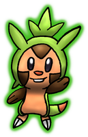 Chespin by kiironekosand