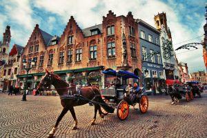 in Bruges by Zuziensk