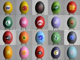 The Olympic Games EasterEGG collection 2013 by EllyTheGee