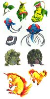 another set of pokemons