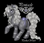 Pentacle Pony by PookaWitch