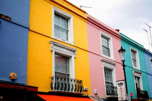 Portobello Houses by Verdianapeace