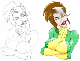rogue by san by MrP94