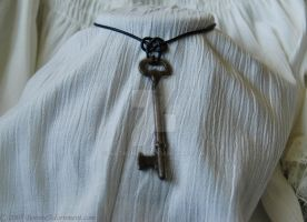 Treasure Key Necklace by NatashaVi
