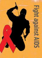 Fight against aids by DiDi-S