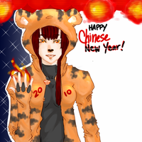 Year of the Tiger by watermelonseeds