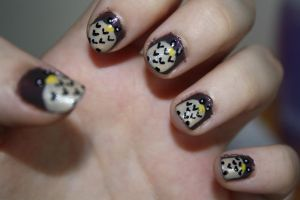 Owl Nails by Lisa-Glover