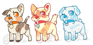 Puplet Adopts by Moriartea-time