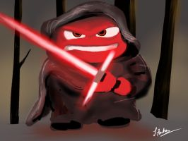 Anger Leads to the Darkside. by lenfontes
