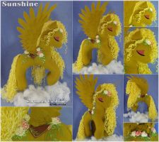Sunshine - Pegasus by LadyLittlefox