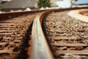 Railway tracks by KalvinK