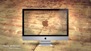 Apple Wallpaper by Martz90