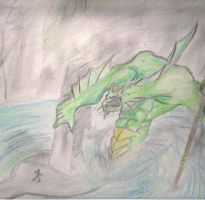 Dagon rises by lordofpencil