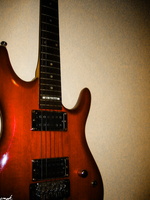 red ibanezes haunt my dreams. by caribo-starmix