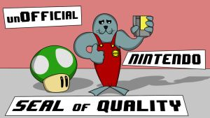 Nintendo Seal Of Quality. A play on words :) by MotionRide