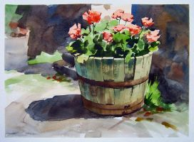 old planter by turningshadow