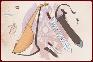 RoN: Eleizenn Weapons and Pets by skyggedal
