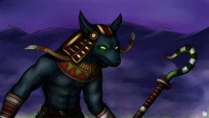 SMITE: Anubis by Apples-Malus