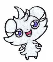 Espurr by FrozenFeather