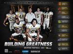 2011 Football Poster by jenapic