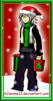 Kingdom Hearts Christmas-Riku by AJanime12