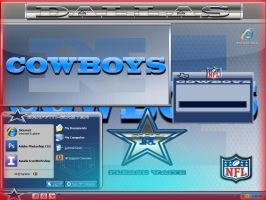 DALLAS COWBOYS THEME by graffitimaster