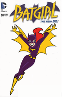 Batgirl Classic Animated Design (Blank Cover) by RobertoJOEL1307
