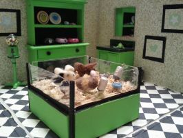 Miniature Pet Shop by pinkpossible