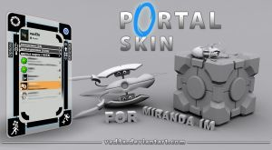 Portal Skin For Miranda IM by vad3x