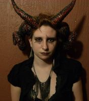 and another pic of the horns by FiveFootFireStarter