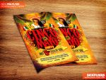 Cinco de Mayo Flyer Template PSD by Industrykidz